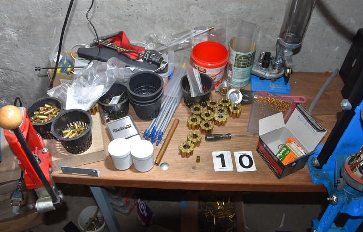 Municija pronađena u stanu uhapšenog