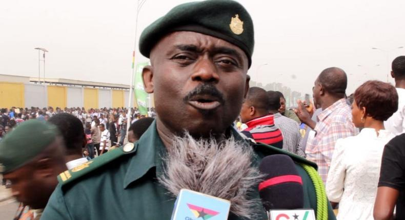 Public Relations Officer of the Ghana Immigration Service, Superintendent Michael Amoako Attah