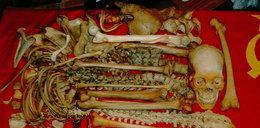 Makabra! Uprawiała seks ze szkieletami!