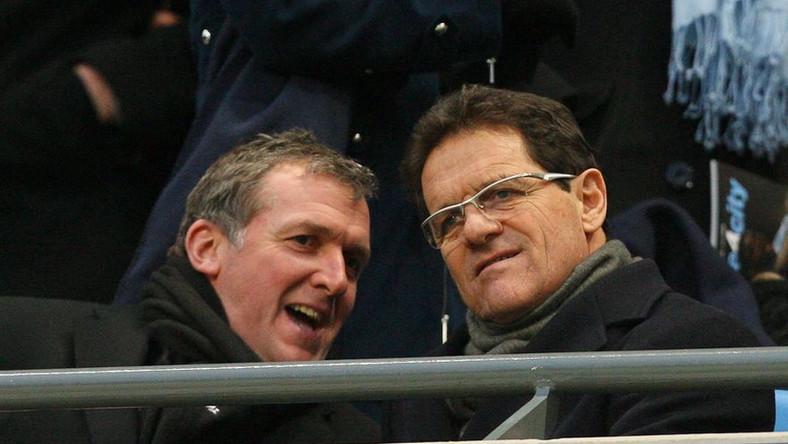 Garry Cook (po lewej) po skandalu z mailem podał się do dymisji