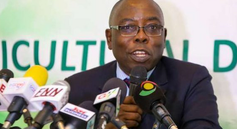 Managing Director of the Ghana Stock Exchange,  Kofi SYamoah