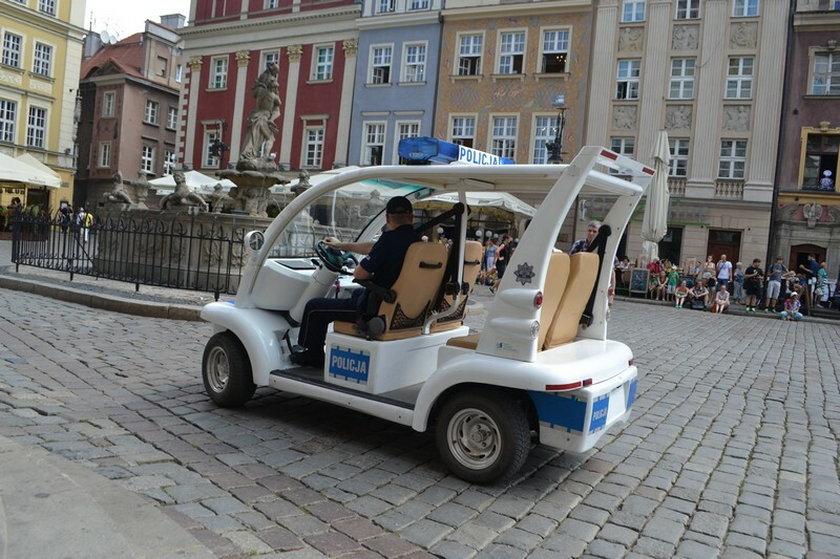 Poznańska policja będzie pilnowała miasta w meleksie
