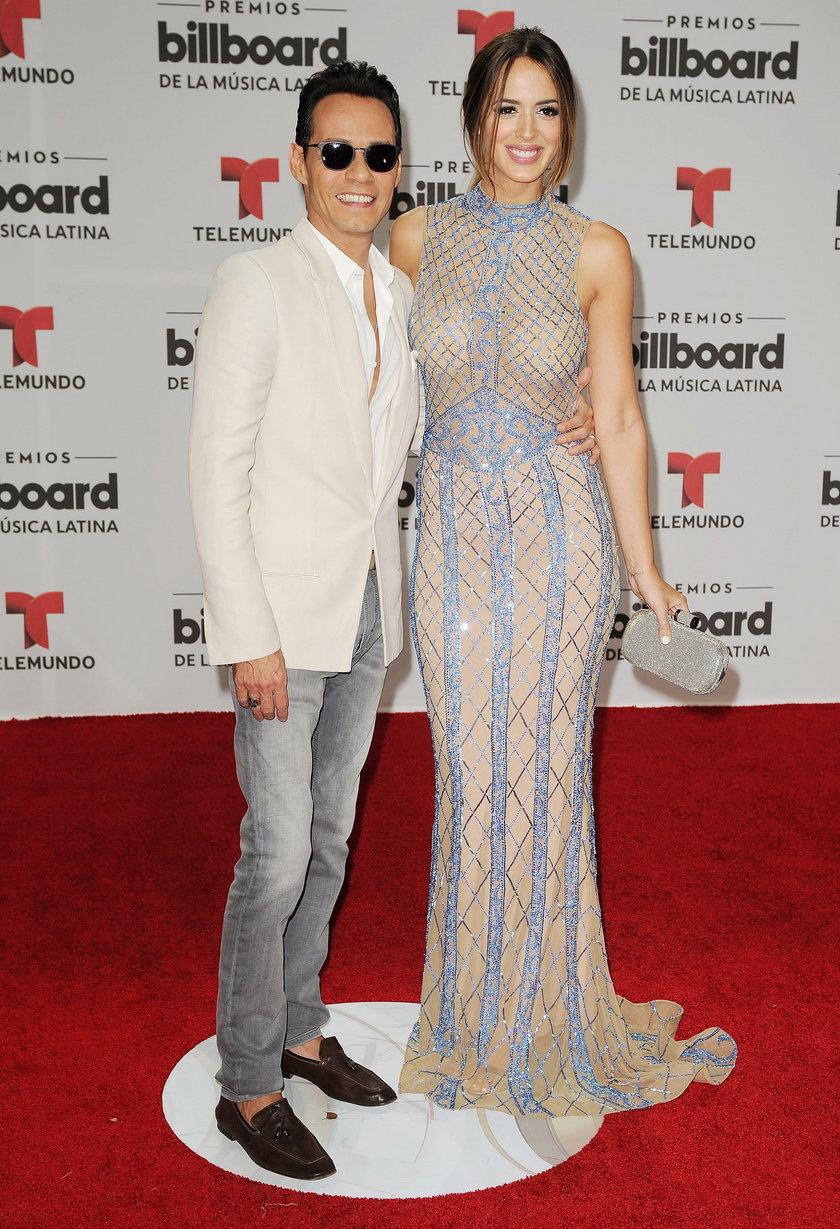 Marc Anthony i Shannon de Lima
