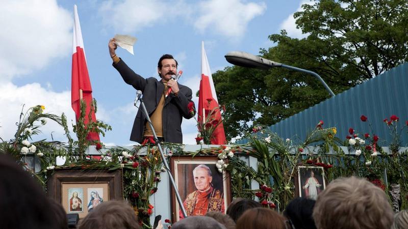 """""""Wałęsa. Człowiek z nadziei"""" - kadr z filmu"""