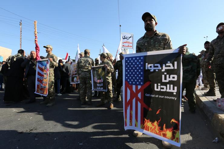 američka ambasada bagdad