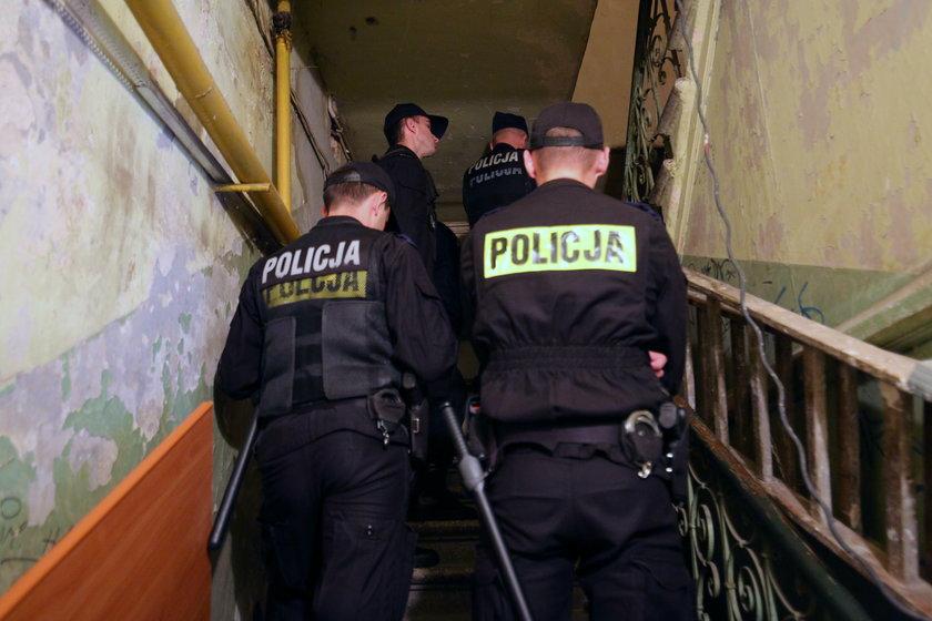 Eksmisja komornicza z udziałem Policji