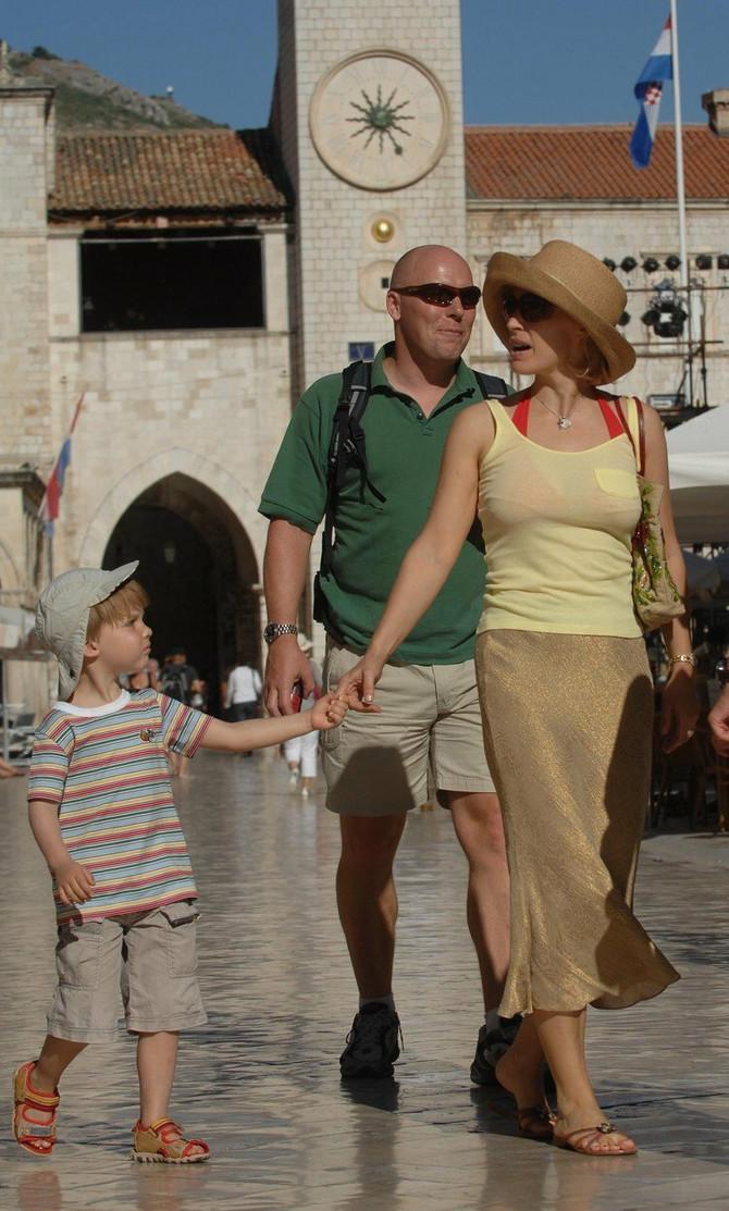 Irina Abramovič u Dubrovniku