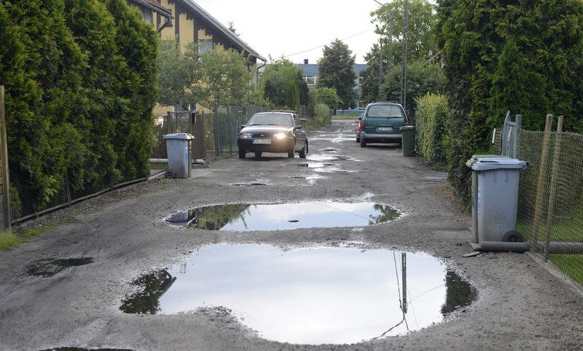 Naprawią drogi gruntowe.