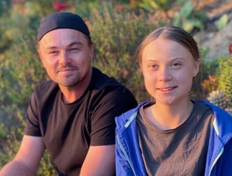 Leonardo Dikaprio i Greta Tunberg