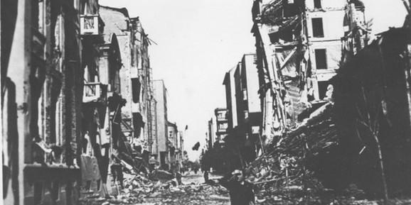 Bombardovanje Beograda 1941. godine