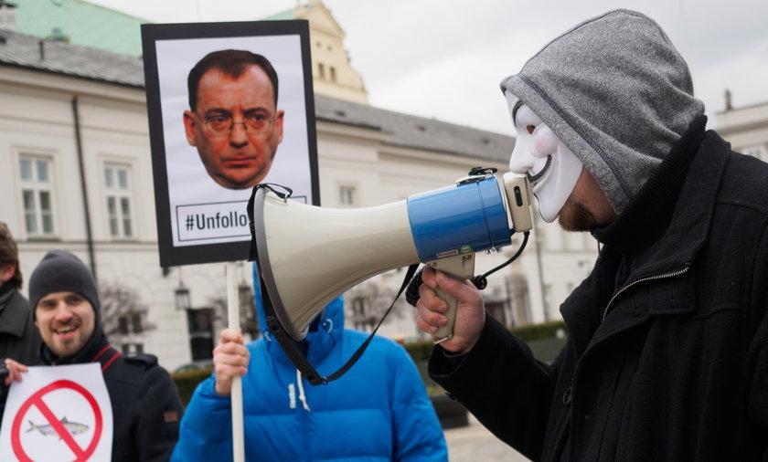 Protest przeciwko inwigilacji