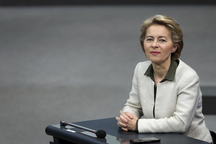EU Ursula von der Leyen