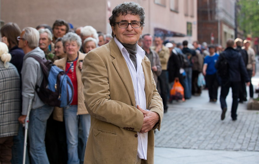 Dieter Brehmer, w jego noclegowni kiedy temperatura spada poniżej zera mogą nocować wszyscy - trzeźwi i nietrzeźwi