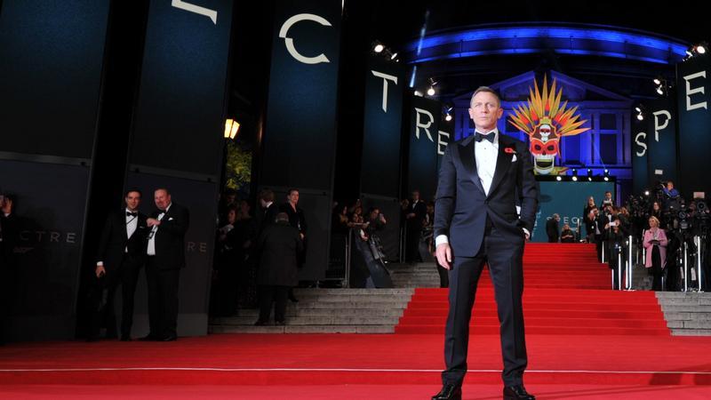 "Daniel Craig na premierze ""Spectre"""