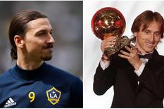 Zlatan Ibrahimović, Luka Modrić