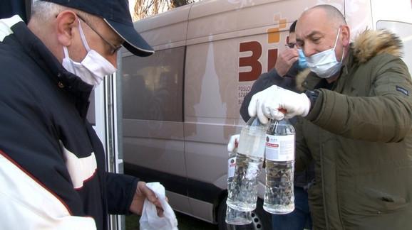 Sredstvo za dezinfekciju stambenih zgrada za Subotičane