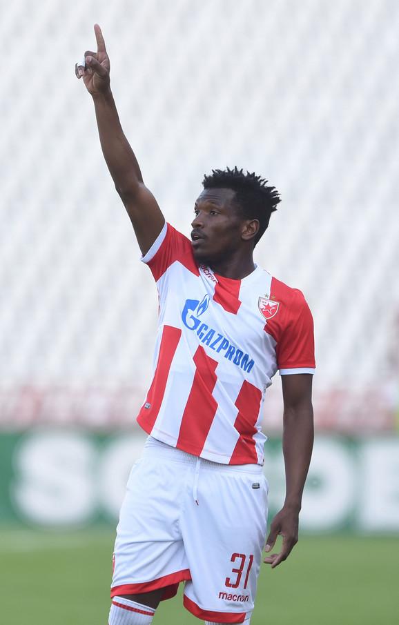 Strelac vodećeg gola za Zvezdu: El Fardu Ben