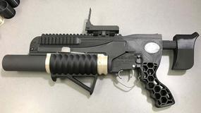 RAMBO: granatnik z drukarki 3D