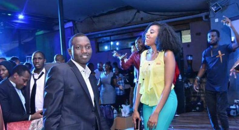 Ruto's son turning up with friends