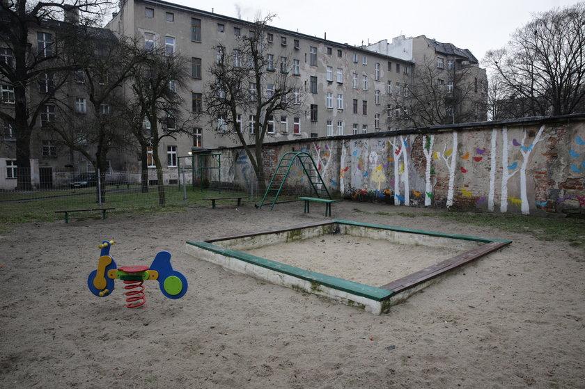 Podwórko we Wrocławiu