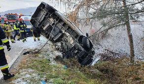 Tragedia na moście. 21-letni kierowca nie żyje