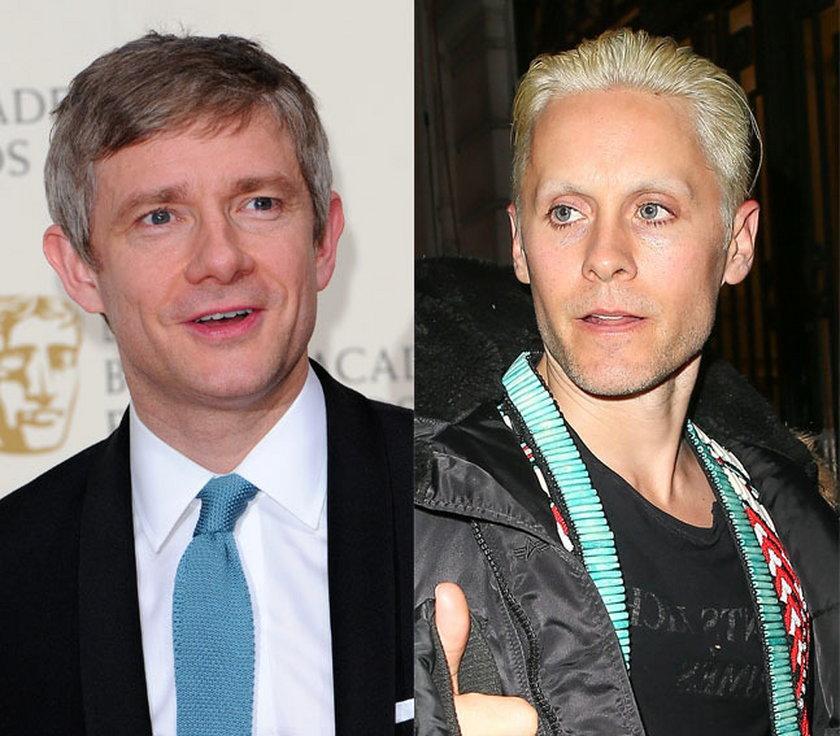 43 lata: Martin Freeman i Jared Leto
