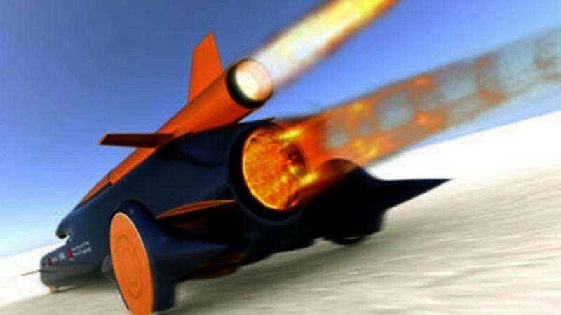 Najszybsze auto świata: 1690 km/h