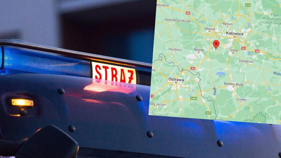 Śląsk: Pożar domu jednorodzinnego. Są ofiary