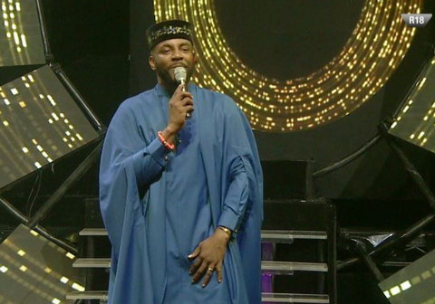 This is definitely going to be one of the spectacular highpoints of the live eviction show every Sunday as Ebuka always shows up prepared [Twitter/BBNaija]