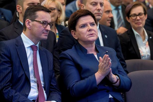 Beata Szydło, Mateusz Morawiecki