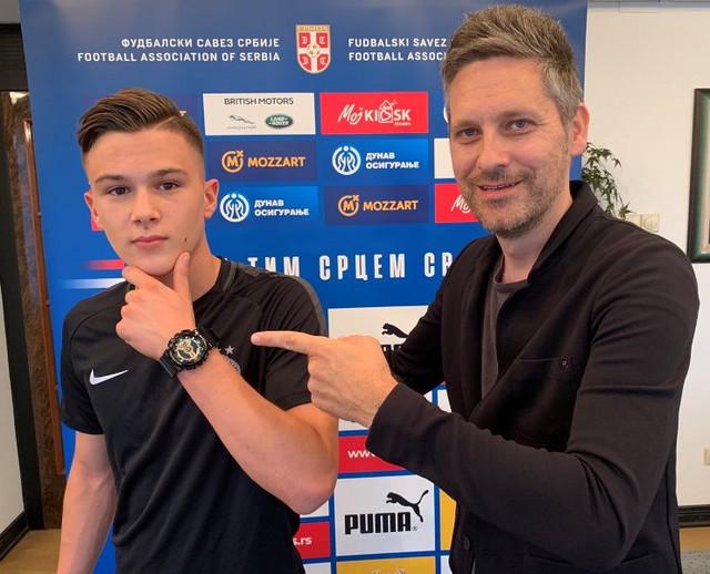 Filip Stevanović i Nebojša Petrović
