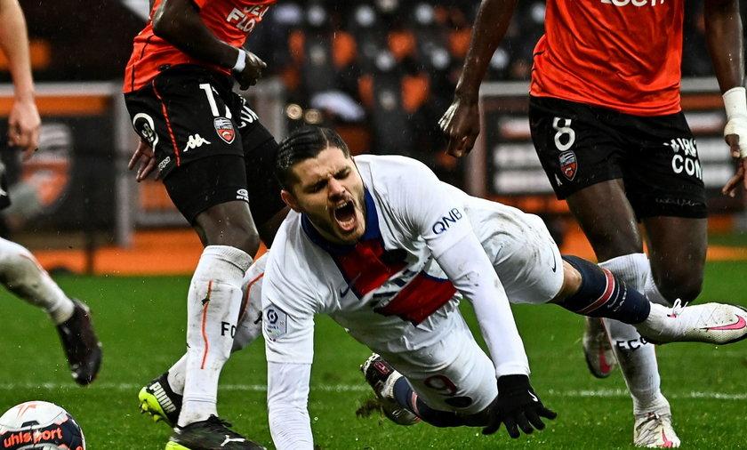 Kiedy Mauro Icardi męczył się na boisku w meczu z Lorient, złodzieje plądrowali mu w tym czasie dom