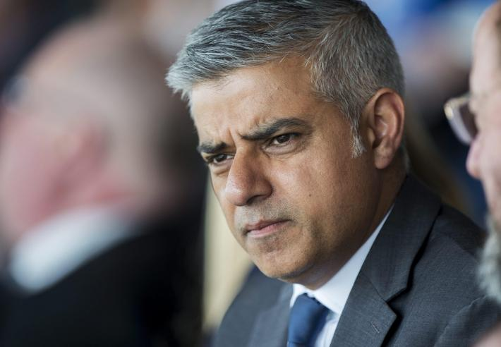 Mayor of London Sadiq Khan attends Jewish Community Holocaust Commemoration