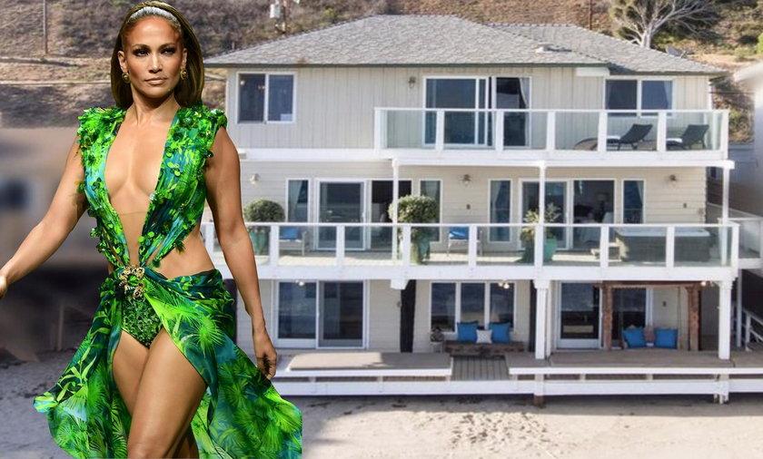 Jennifer Lopez sprzedaje swoja posiadłość w Malibu