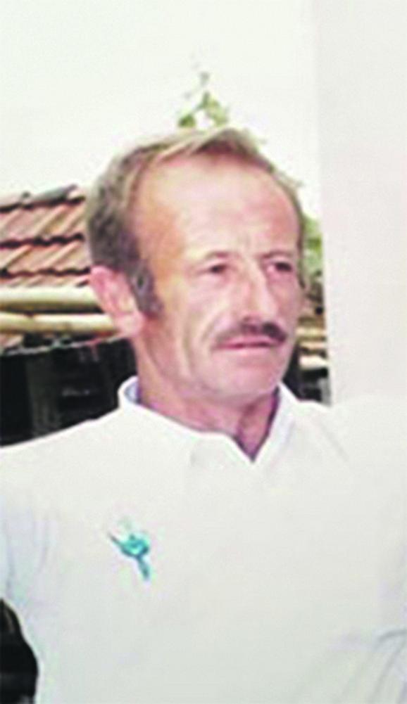 Iskrvario nasmrt: Milovan Mitić