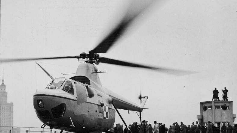 Śmigłowcem SM-1 latał Gomułka