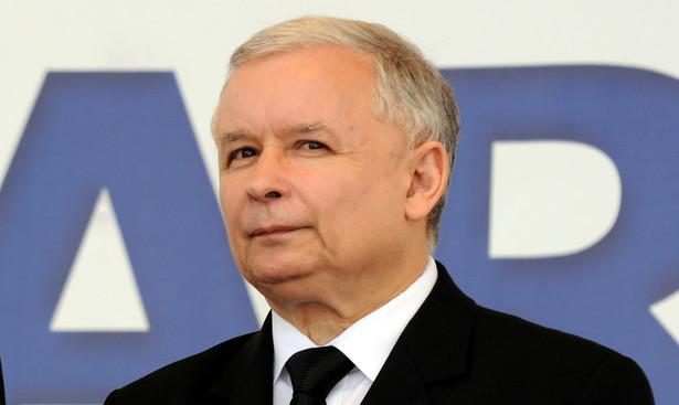 Jarosław Kaczyński. Fot. Piotr Charchuła/Newspix.pl