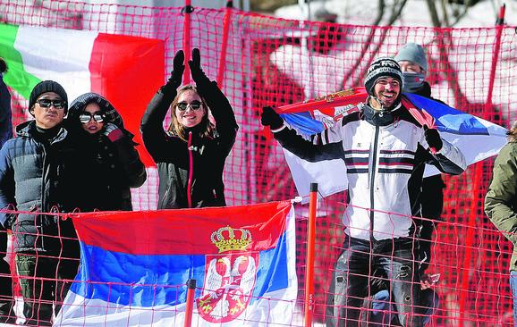 Srpski olimpijci su imali dobru podršku