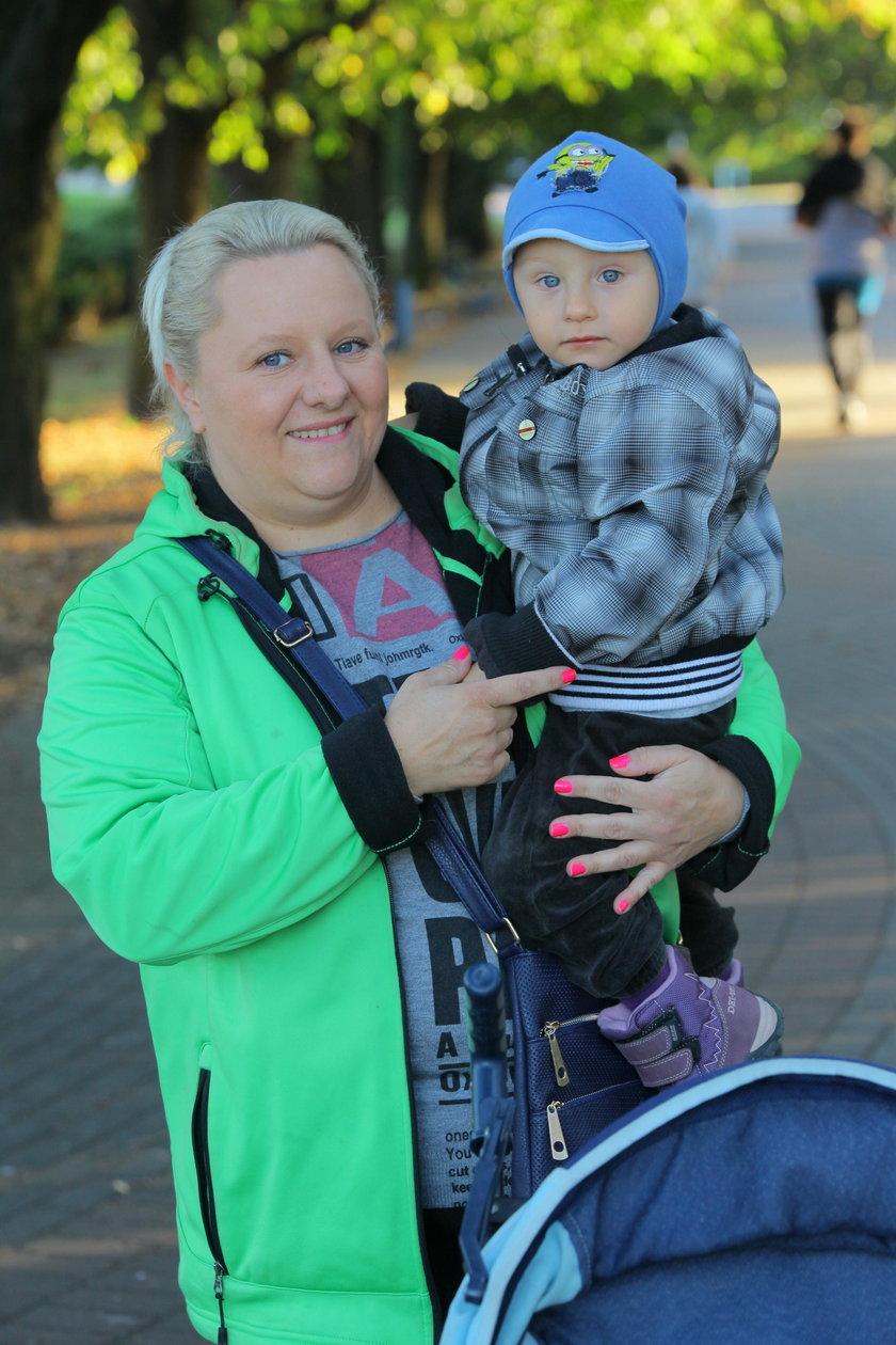 Agnieszka Mądry (39 l.), mama 2-letniego Adama