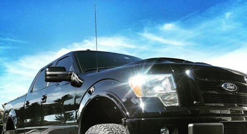 Dwayne Johnson's Ford Truck
