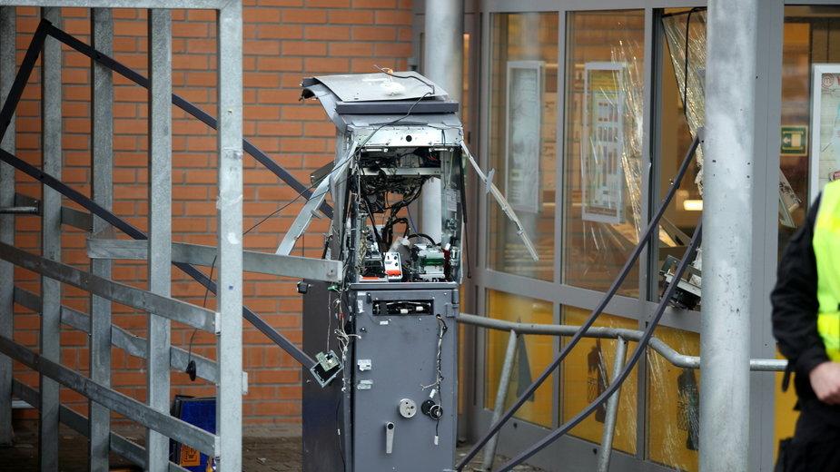 Wysadzony bankomat w Gorzowie Wielkopolskim