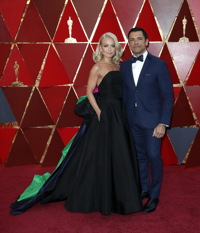 Oscary 2018: Kelly Ripa i Mark Consuelos