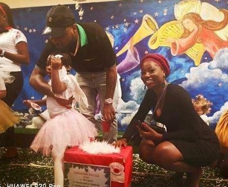 Imade and her parents, Davido and Sophia Momodu