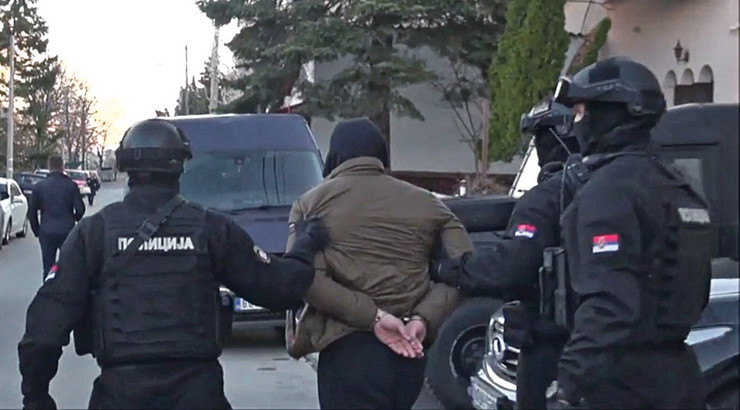 Hapšenje organizovani kriminal SAJ
