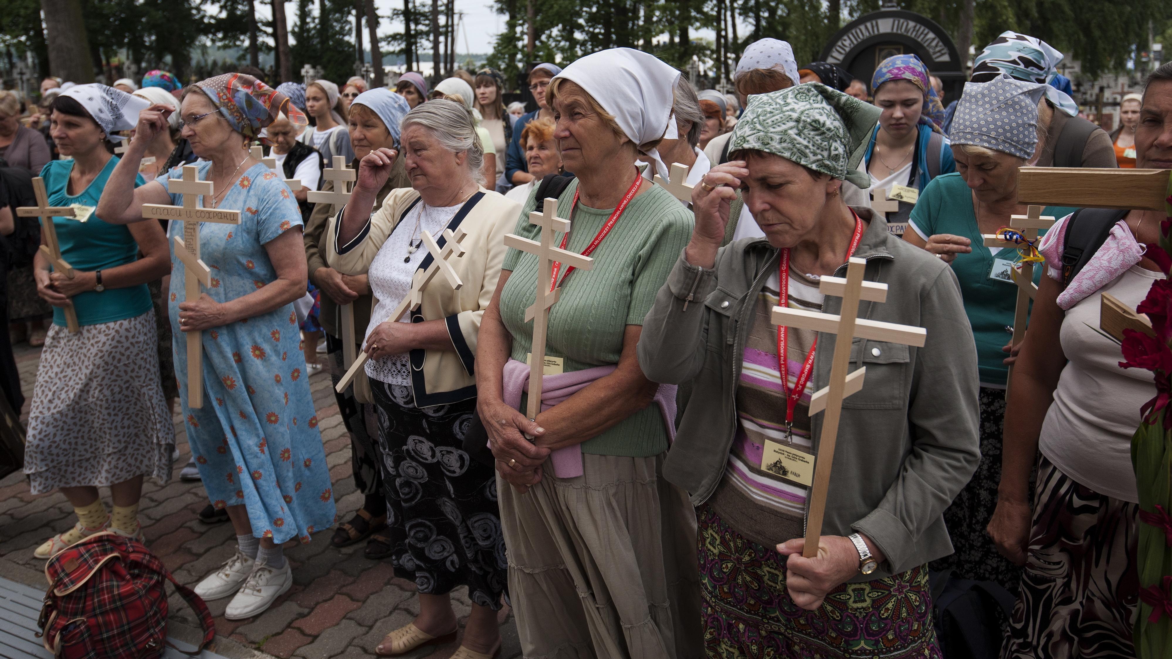 Ruszyła prawosławna pielgrzymka z Białegostoku na Górę