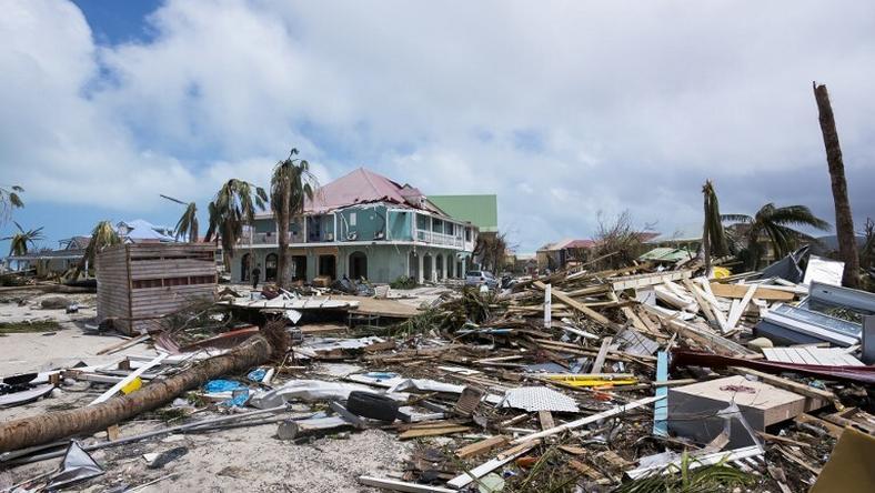 Skutki przejścia huraganu Irma na Haiti