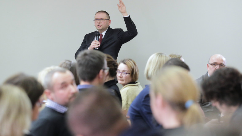 Prezes SR Maciej Nawacki
