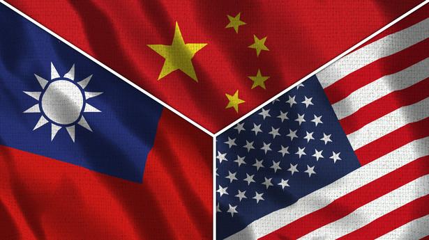 Tajwan, Chiny, USA