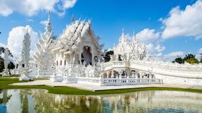 Wat Rong Khun - biała świątynia w Chiang Rai