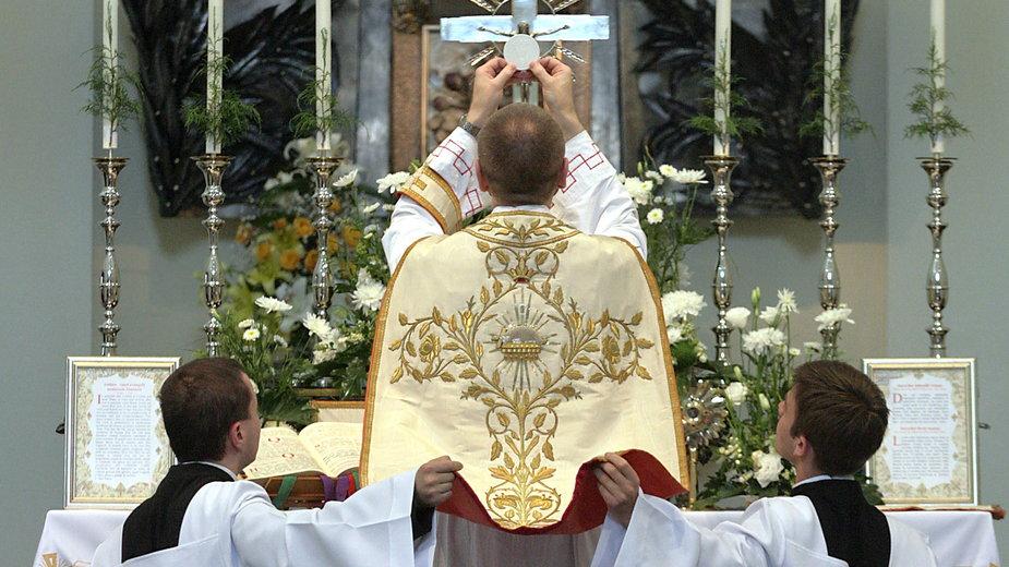 Msza w klasycznej formie rytu rzymskiego